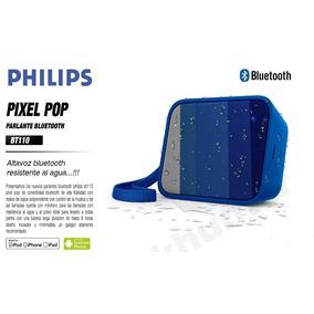 Corneta Bluetooth Philips 8 Horas 4 Watts Rms Nueva