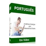 Curso 16 Dvds Português, Redação E Gramática A23