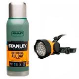 Termo Stanley Adventure 1 Litro + Linterna Minera 19 Led