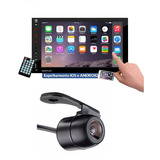 Central Multimidia Mp5 Espelhamento Iphone + Camera