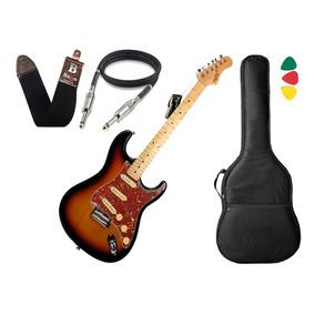 Guitarra Tagima T635 Classic Sunburst Escala Escura Capa