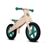 Bicicleta Balance Roda Madera Verde Juguete Niños/a