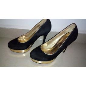 Zapatos Dorados Libre Mercado Plataforma En Mujer Tacones Venezuela 4EHP6wqHx