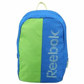 Mochila Reebok U Essentials Azul/verde Promoção