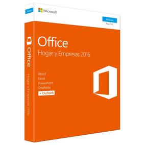 Microsoft Office Home & Business 2016 32/64bits Español
