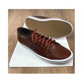 712bd3eb3c1 Fred Perry Couro - Sapatos no Mercado Livre Brasil