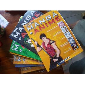 Desenhe Mangá E Anime - Lote Com 26 Números