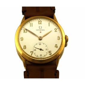 101739503fd Relógio Omega Estrela 1944 Em Ouro 18k Calibre 260 J19991