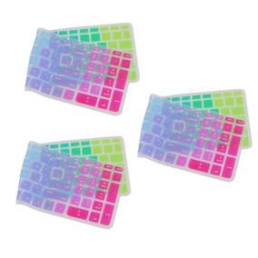Protetor Pele Colorido Teclado Silicone 3piece Para Hp Pavil