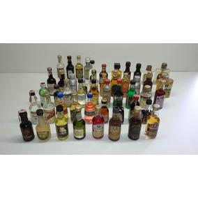 Miniaturas De Garrafinhas Bebidas 49 Un., Todas Diferentes