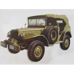 Miniatura Veículos De Serviço Dodge Wc57 Força Expedicionári