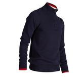 Jersey Golf Tiempo Frío Azul Marino Para Hombre a10728bc2984