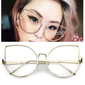 Armacao De Oculos De Gatinha Dior - Óculos no Mercado Livre Brasil db8a79192b
