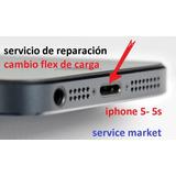 Iphone 5 5s Cambio De Conector De Carga Reparación