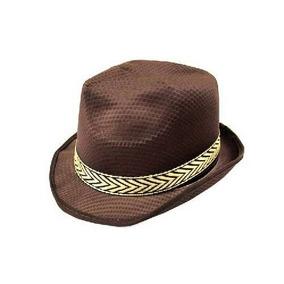 6082fd1b60a19 Chapeu Ramenzoni Masculino - Chapéus para Masculino Marrom escuro no ...