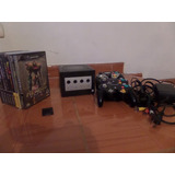 Nintendo Gamecube + 3 Controles + 9 Juegos + 1 Memory Card