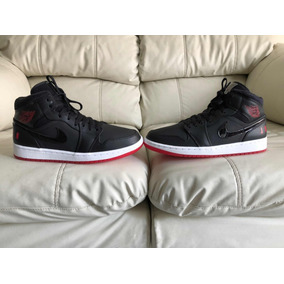 6c104f7f59e Tenis Air Jordan Retro 1 Mid Del 27mx 9us