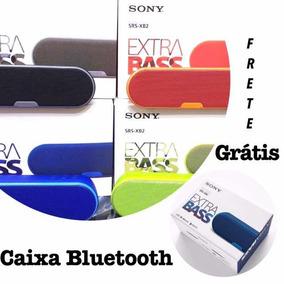 Caixa Bluetooth Som Música Potente Usb Sd Sony Wireless