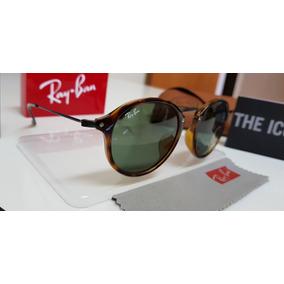 Óculos Ray Ban Round Fleck Preto - Óculos no Mercado Livre Brasil 14b835e34c
