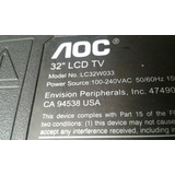 Lcd Aoc Lc32w033 Repuestos, Pantalla Rota