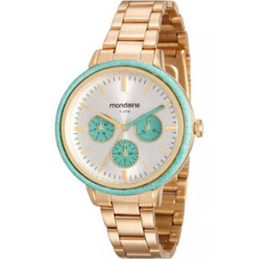 Relógio Feminino Mondaide 89002lpmvde1 Promo Verão