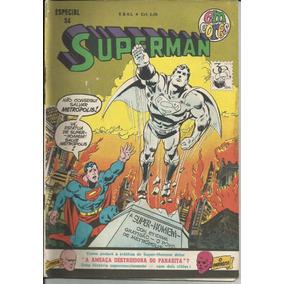 Revista Superman Especial 54 (ed Ebal) 1975)