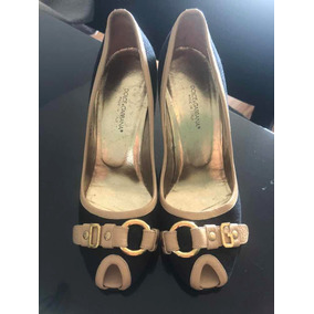 22672f2f9e214 Sapato Scarpin Dolce Gabbana - Sapatos no Mercado Livre Brasil