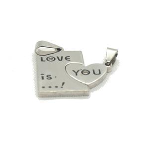 Dije De Love Is You Plata