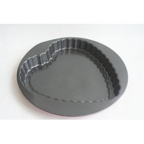 Molde De Torta Teflonado Forma De Corazón Antiadherente
