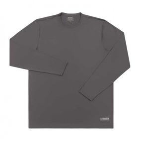 Camiseta Com Proteção Uv Tamanho M Cinza [ 32 ] - Vitho Pr