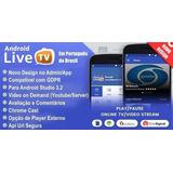 Código Fonte Aplicativo Android Web Tv, Live Tv, Tv Ao Vivo