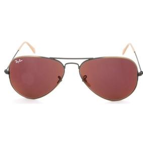26377c26d678a Óculos De Sol Ray Ban 3025 Aviator Bronze L.marrom Degrade - Óculos ...