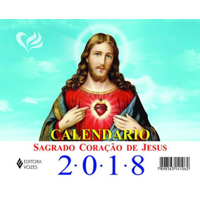 Calendario De Mesa Do Sagrado Coracao De Jesus 2018