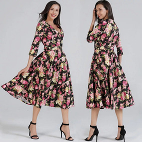 Vestido Vintage Dama