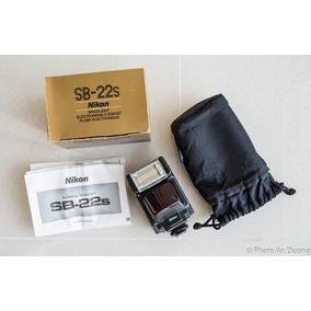 Manual De Instrucciones Y Caja Vacia De Flash Nikon Sb-22s