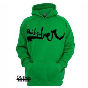 Blusa De Frio Quiksilver Original - Calçados, Roupas e Bolsas Verde ... 0a5aab93fd