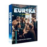 Seriado Eureka 4ª Temporada 3 Discos Dvd - Original Lacrado