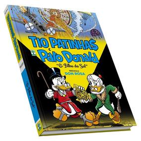 Hq Tio Patinhas E Pato Donald Disney Don Rosa + Frete Grátis