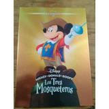 Los Tres Mosqueteros Disney Clasicos Nuevo Dvd