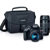 Canon T6 Kit Premium Lentes 18-55 / 75-300 Bolso Y Memoria!!