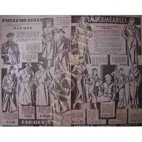 Publicidad Antigua Casa Jarques Ropa E Impermeables 1934 D.f 7c101c6180ae