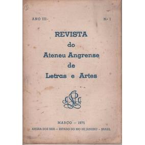 Revista Do Ateneu Angrense De Letras E Artes 03/75 A 09/77