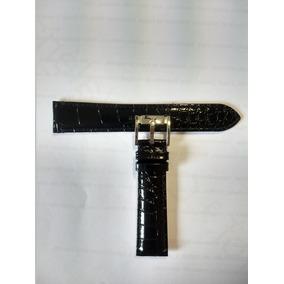 Pulseira Relógio Emporio Armani Couro Preto 20mm