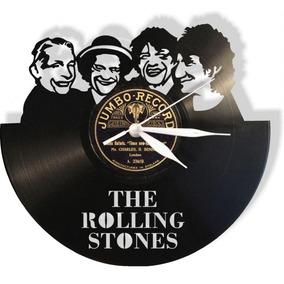 Reloj Decorativo Rolling Stones Rostros