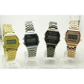 7bd3396150c Relogio Casio Vintage Dourado Com Preto - Relógios no Mercado Livre ...