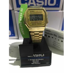 Reloj Original Casio A168wg-9ef Dorado Gold Vintage Retro