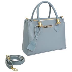 98e9ae2c7 Bolsa Feminina Transversal 50 Reais - Bolsa Outras Marcas Azul aço ...
