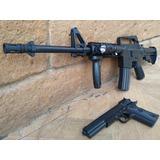 Kit Marcadora Airsoft Spring Colt M4 A11 Bbs Xtrem R15 Colt