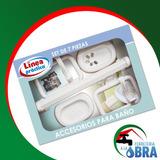 Juego Set Kit Accesorios Para Baño De 7 Piezas Plastico b33009c91754