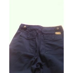 Juvenil Pantalon Casual Azul Para Niños